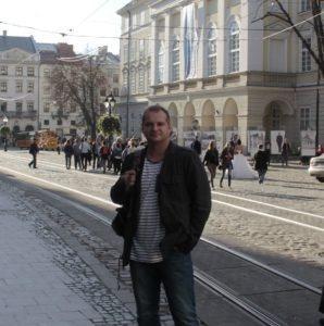 PawełŚwiderski we Lwowie